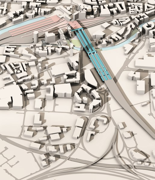 Council leader welcomes HS2 preferred route and revamped Leeds Station confirmation: hs2leedsstationvisualaerial_151130courtesyhs2ltd.jpg