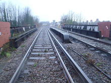 Cheriton Road Bridge Track