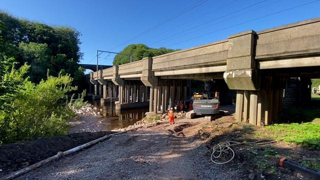 1940s-built Eden railway viaduct