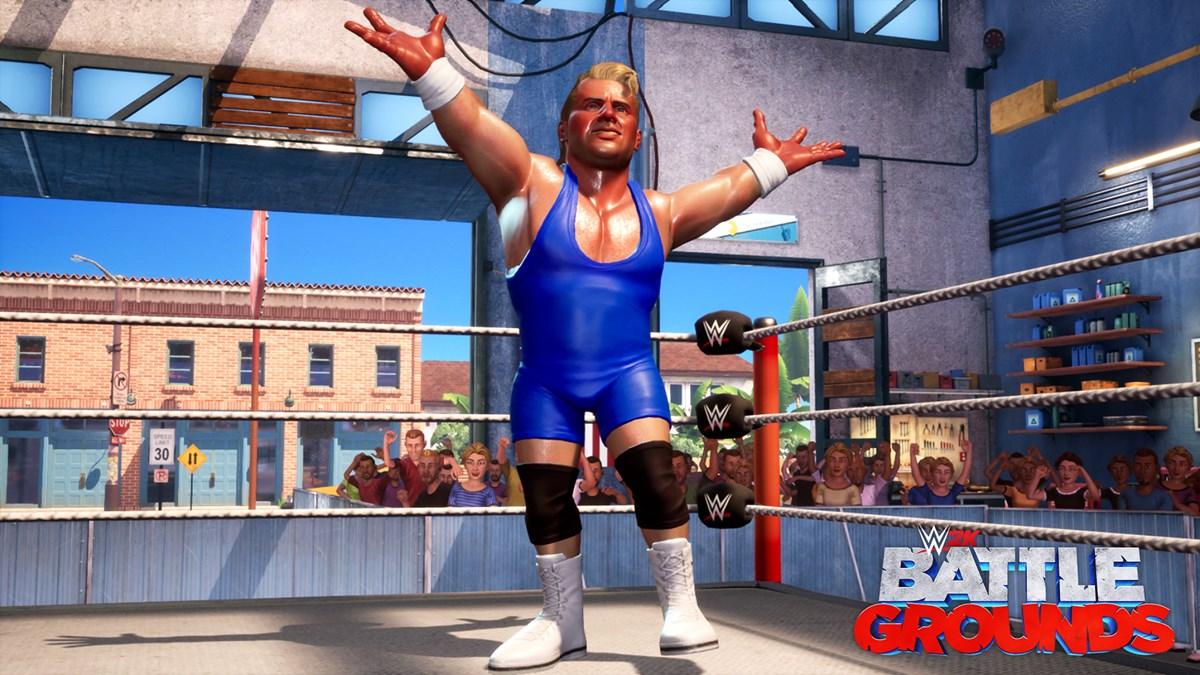 WWE2K BG Mr Perfect