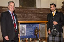 Humza Yousaf - Minister visits bagpipes of fallen soldier - List: These images are copyright of:<br />John Yanyshyn<br /> 1276 Ocean View Rd.<br /> Victoria BC V8P 1J7<br /> (250) 361-7170<br /><a href=