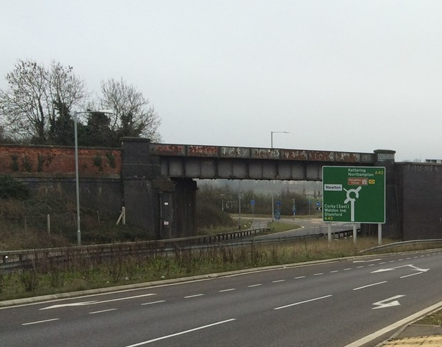 Barfords Bridge set to be replaced as Kettering to Corby upgrade progresses: Barfords Bridge set to be replaced as Kettering to Corby upgrade progresses-2