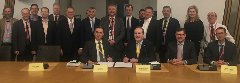 Scotland's carbon reduction ambitions progress with new charter showing commitment from industry and government: NECCUS-3