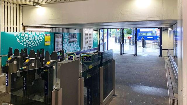 Rochdale station interior