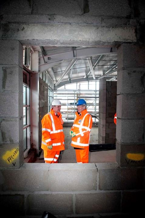 Bathgate Station site visit _3