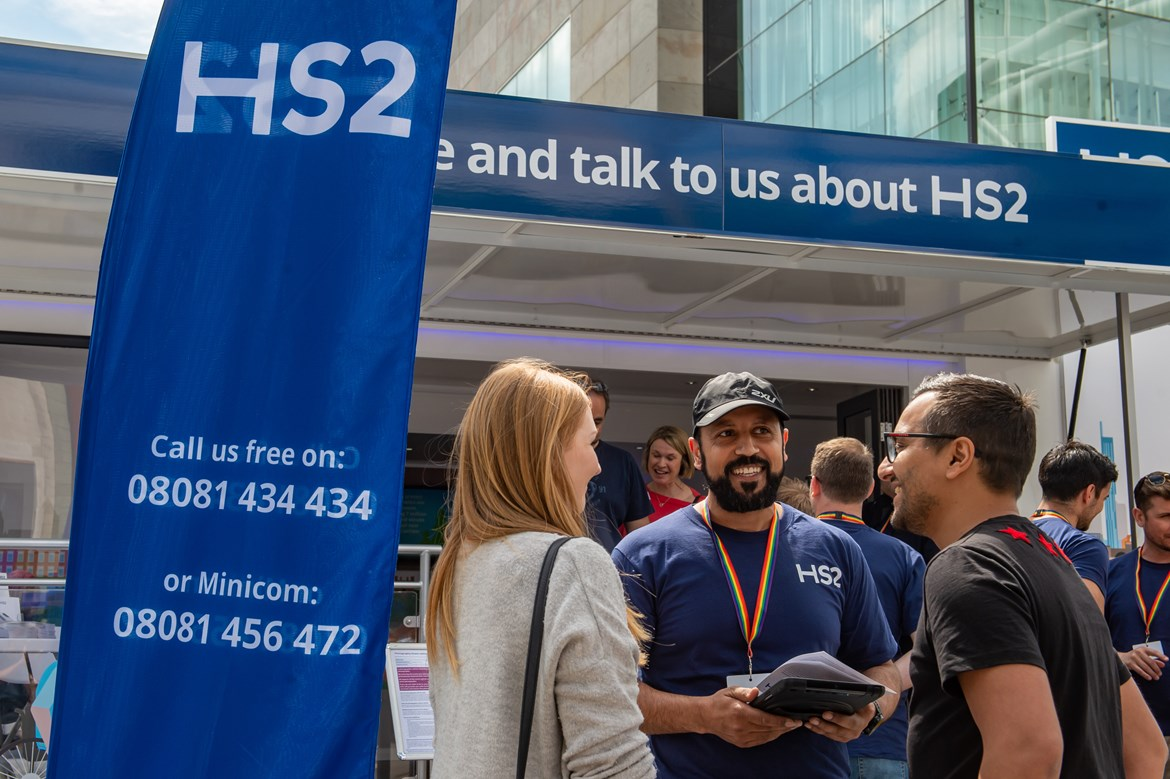 All aboard: HS2 is coming to London: HS2 roadshow is coming