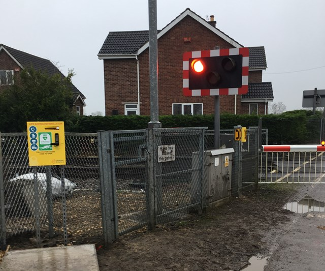 Network Rail installs new, lifesaving defibrillator in rural Selby village: Network Rail installs new, lifesaving defibrillator in rural Selby village