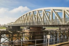 Major work to strengthen Hawarden railway bridge completed: Major work to strengthen Hawarden railway bridge completed