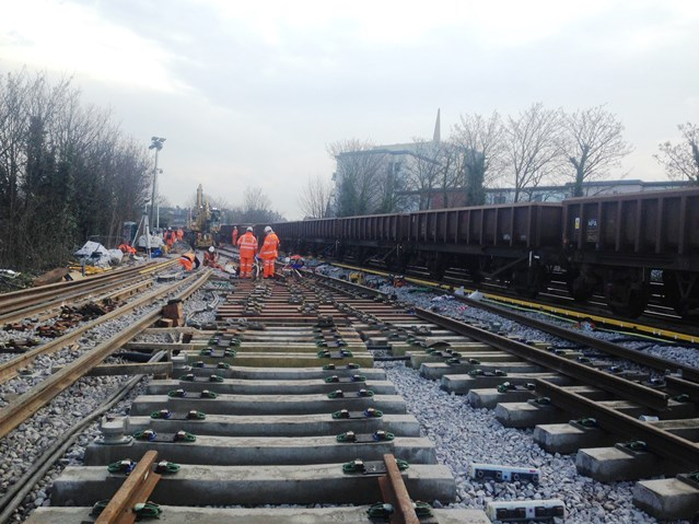 Railway on track to reopen on Monday after Lewisham derailment - but do check before you travel: Lewisham Friday-3