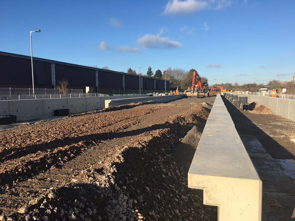 Latest stage of major project at Market Harborough station means two weekends of changes for East Midlands rail passengers: Latest stage of major project at Market Harborough station means two weekends of changes for East Midlands rail passengers-2