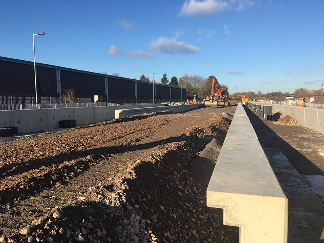 Latest stage of major project at Market Harborough station means two weekends of changes for East Midlands rail passengers-2