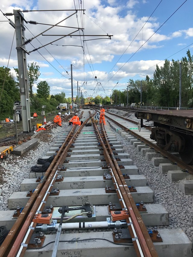 Passengers who must travel on Midland Main Line urged to plan ahead this Bank Holiday weekend as Network Rail carries out vital track upgrades: Passengers who must travel on Midland Main Line urged to plan ahead this Bank Holiday weekend as Network Rail carries out vital track upgrades