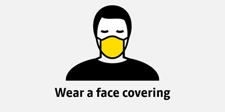 Public in Greater Manchester must wear face coverings on public transport from 15 June: 20-0337 Covid-19 guidance for Twitter1