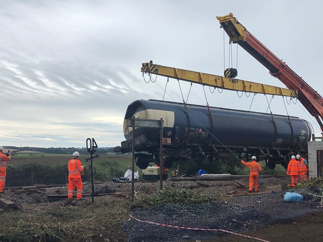 Network Rail are working with other agencies in Llangennech