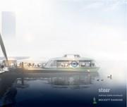 TfL Image - Rotherhithe to Canary Wharf artist impression