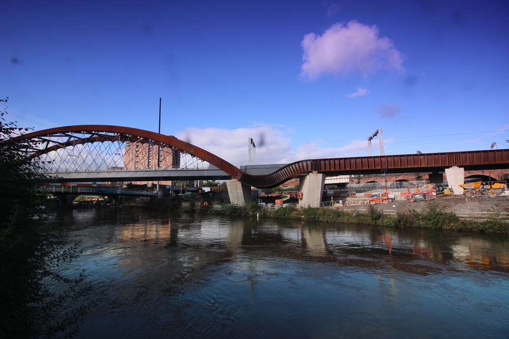 Multi-billion pound Great North Rail Project transforming travel: Ordsall 1