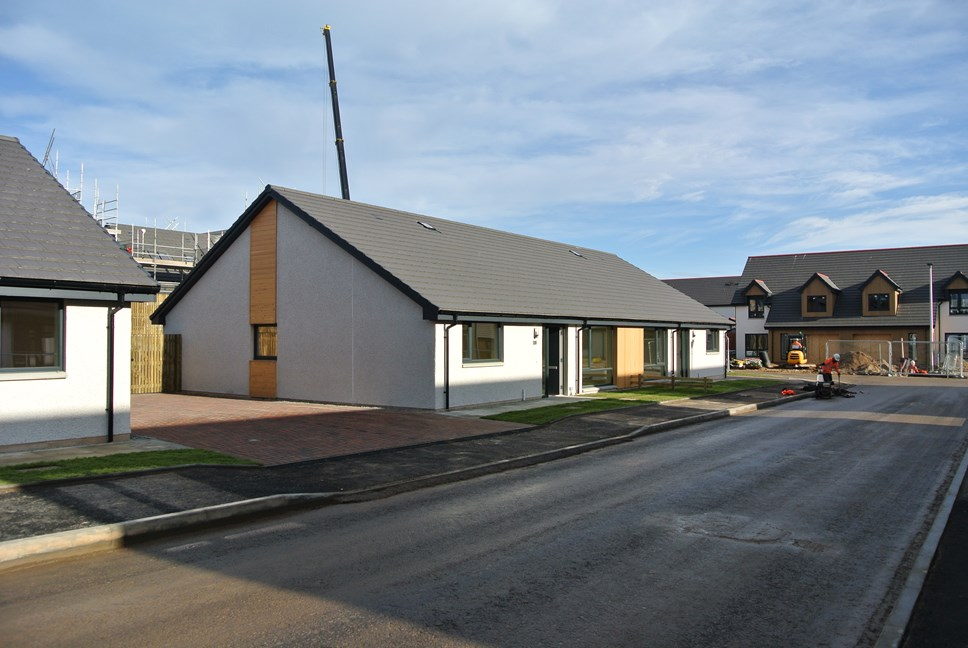 Vision for local development in Moray approved by Scottish Government: £6.5 million investment in affordable housing on track