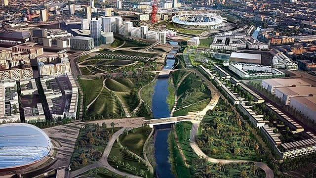London is top European hub for global tech talent: olympic park tech city xl