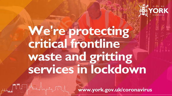 Essential frontline services protected during lockdown: protecting essential services