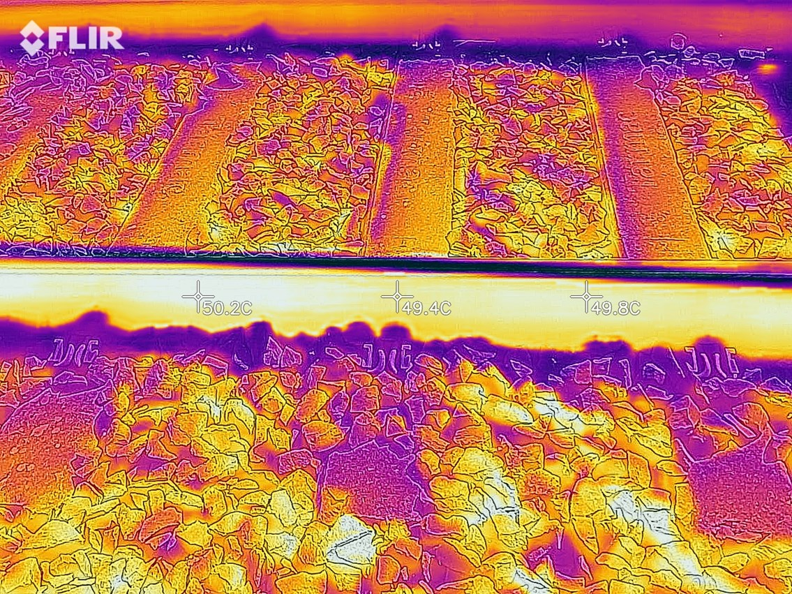 Safety measures imposed on East Coast Main Line amid warnings of record UK temperature: Example of infrared track monitoring