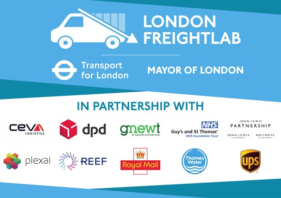 TfL Press Release - TfL launches freight innovation challenge to tackle congestion and keep goods moving: TfL Image - FreightLab Partners