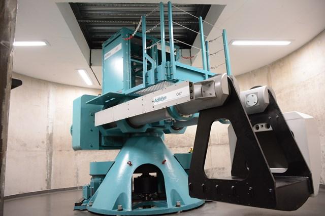 University of Southampton - national infrastructure lab centrifuge