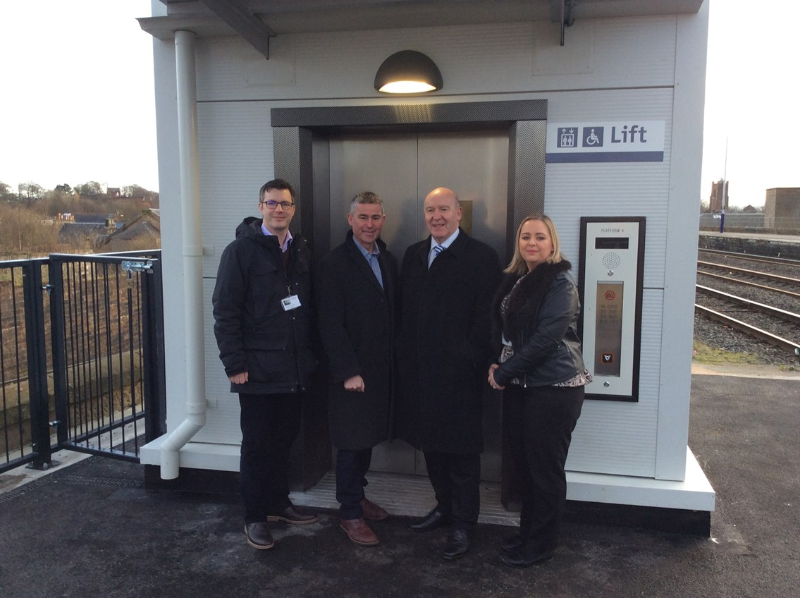 Kilmarnock station's £2.7m access improvement project nears completion: Kilmarnock access for all