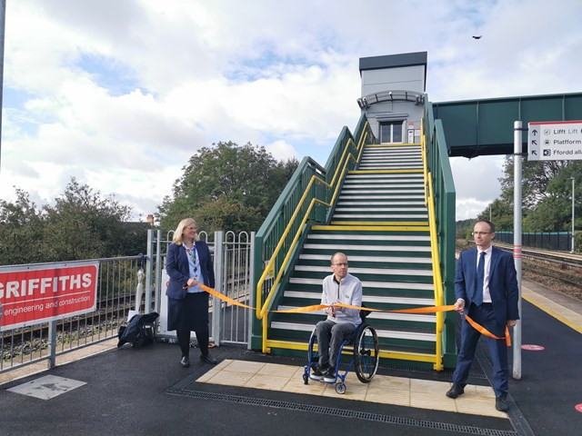 Cadoxton station now has step free access