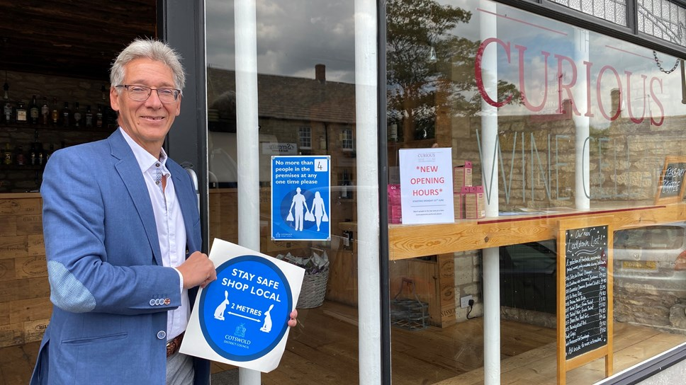 Council plans for the safe reopening of High Streets: Town Centre Reopening