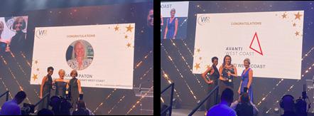 Women in Rail Award Winners