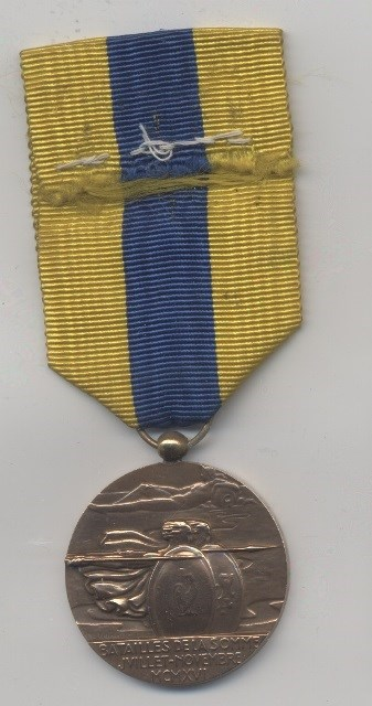Object of the week- The Somme medal: sommemedal.jpg