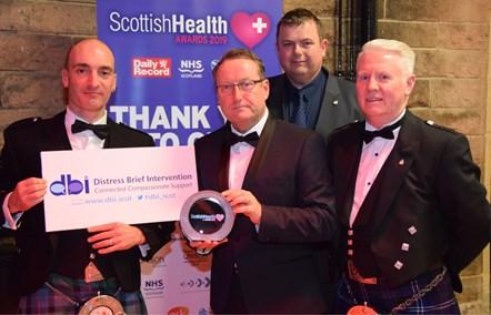 Distress Brief Intervention (DBI) wins award: SAS
