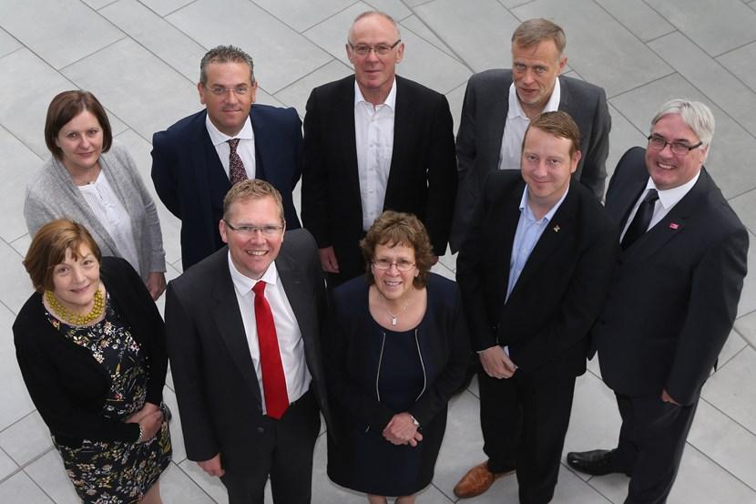 Leader of Leeds City Council named as new chair of Core Cities UK: leadersgroupshotnewcastlecabinetjuly2016.jpg