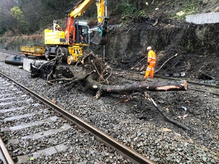URGENT RAIL UPDATE – as of 5pm Wednesday 19 February: Customers still urged to check before they travel on Thursday and Friday: Track Repairs