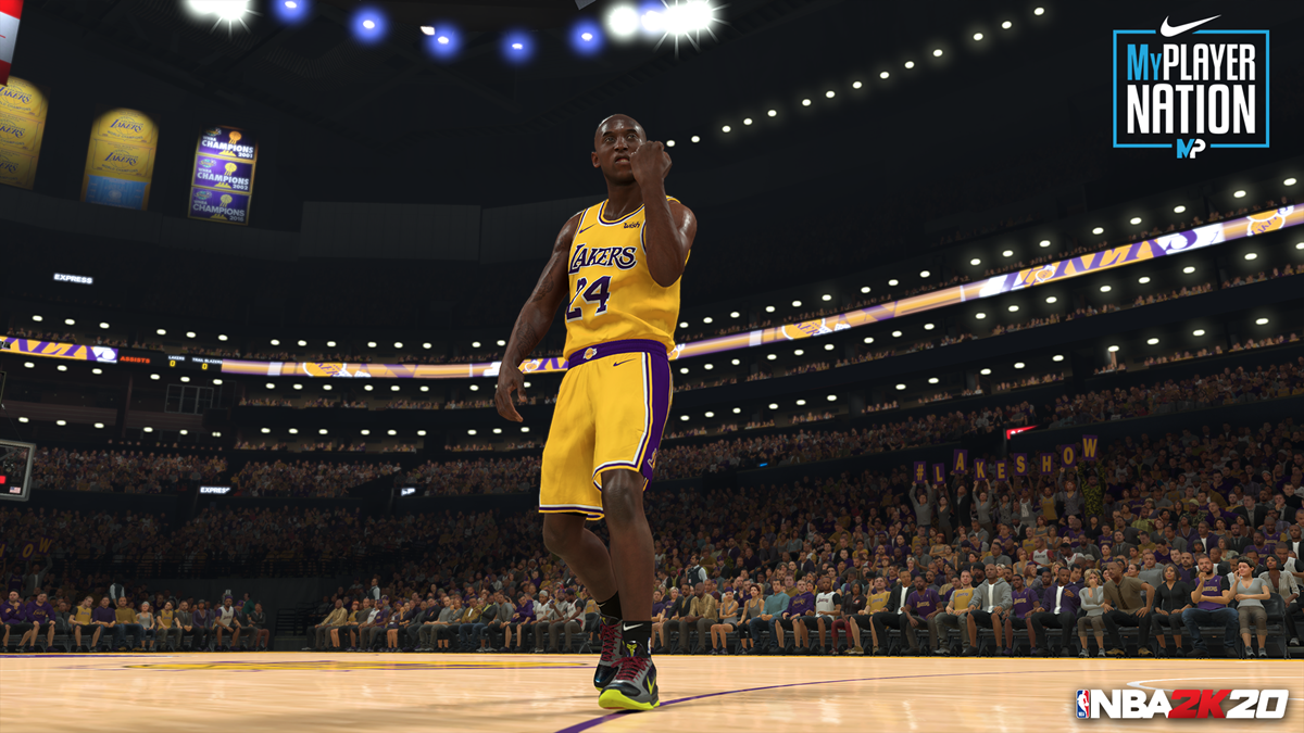 NBA2K20 MyPLAYER Nation - Kobe