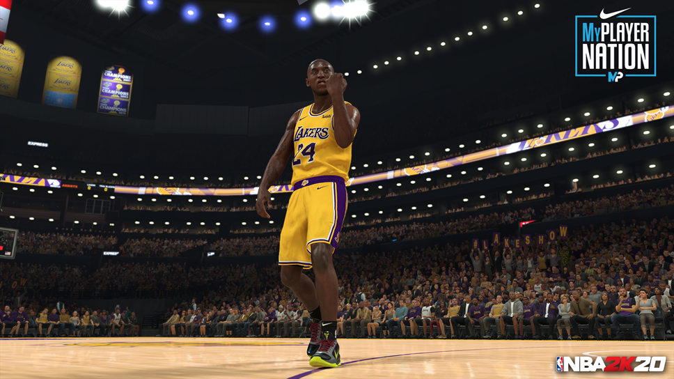 NBA 2K Drops Its Second Nike Gamer Exclusive Shoe for MyPLAYER Nation Mode: Kobe V Protro 'Chaos' GE: NBA2K20 MyPLAYER Nation - Kobe
