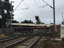 New track arriving on site at Kelvedon