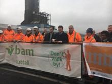 Richard Benyon MP & Robbie Burns open Boundary Road bridge