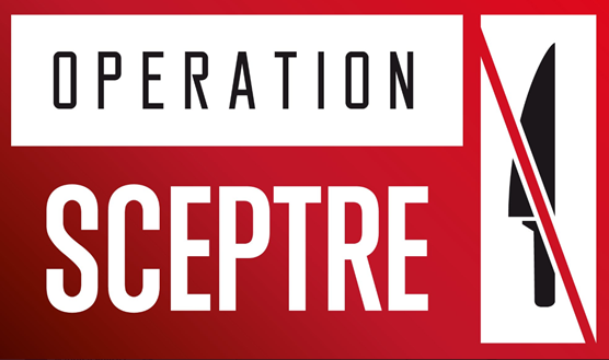 Forces across the country unite in action to tackle knife crime: Operation Sceptre red