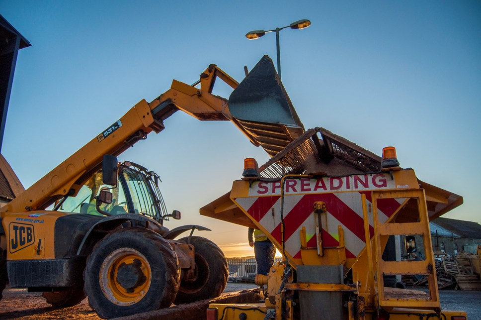 Dallas to Knockando, and Rothiemay route, reinstated as Priority 1 for gritting: gritty85