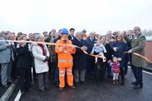 Ufton Nervet bridge being officially opened