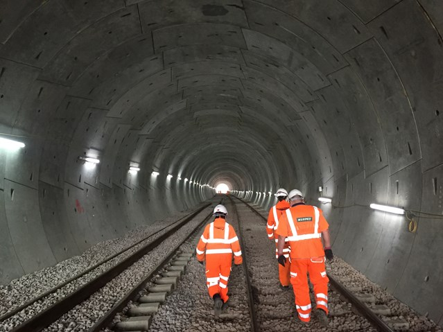 Weekend closure before full train timetable to resume between Manchester and Bolton on Monday 14 December: Farnworth tunnel-12