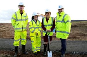 FM kicks off work on Aberdeen Bypass: FM kicks off work on Aberdeen Bypass