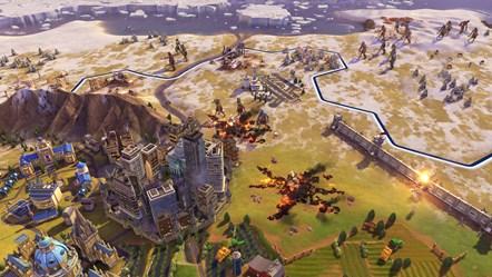Civiliation VI - New Frontier Pass - Zombie Defense - Horde City