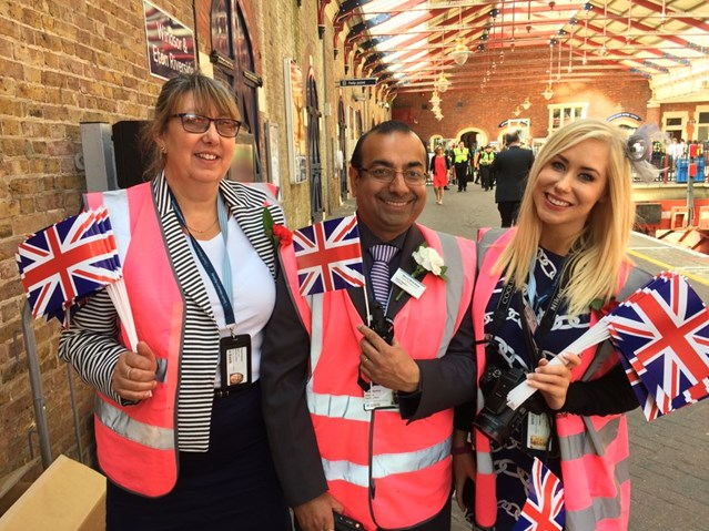 South Western Railway network safely transports thousands of well-wishers between Waterloo and Windsor for Royal wedding: Royal wedding 9