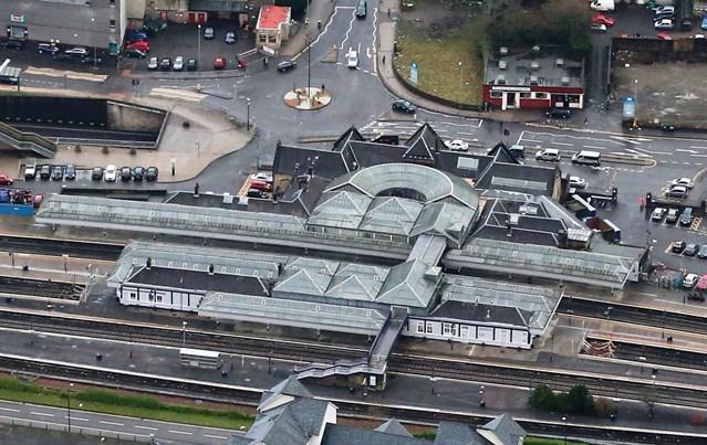 Plans submitted for Stirling station footbridge works: Stirling Station Higher ResLarge
