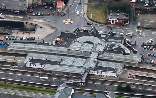 Plans submitted for Stirling station footbridge works: Stirling Station Higher ResLarge