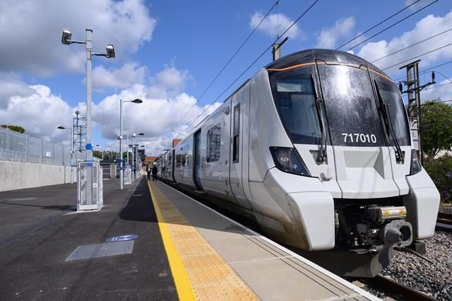 Platform 5 at Stevenage station