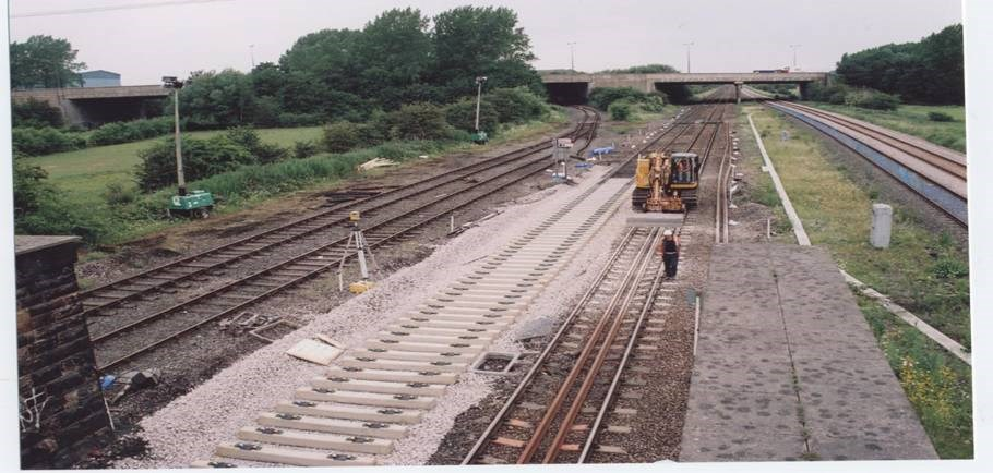 East Midlands Resignalling: Track improvements at Stanton Gate (North Erewash)