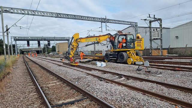 Bank Holiday rail works keeps reliability on track in Anglia: August Bank Holiday London - Shoeburyness 1